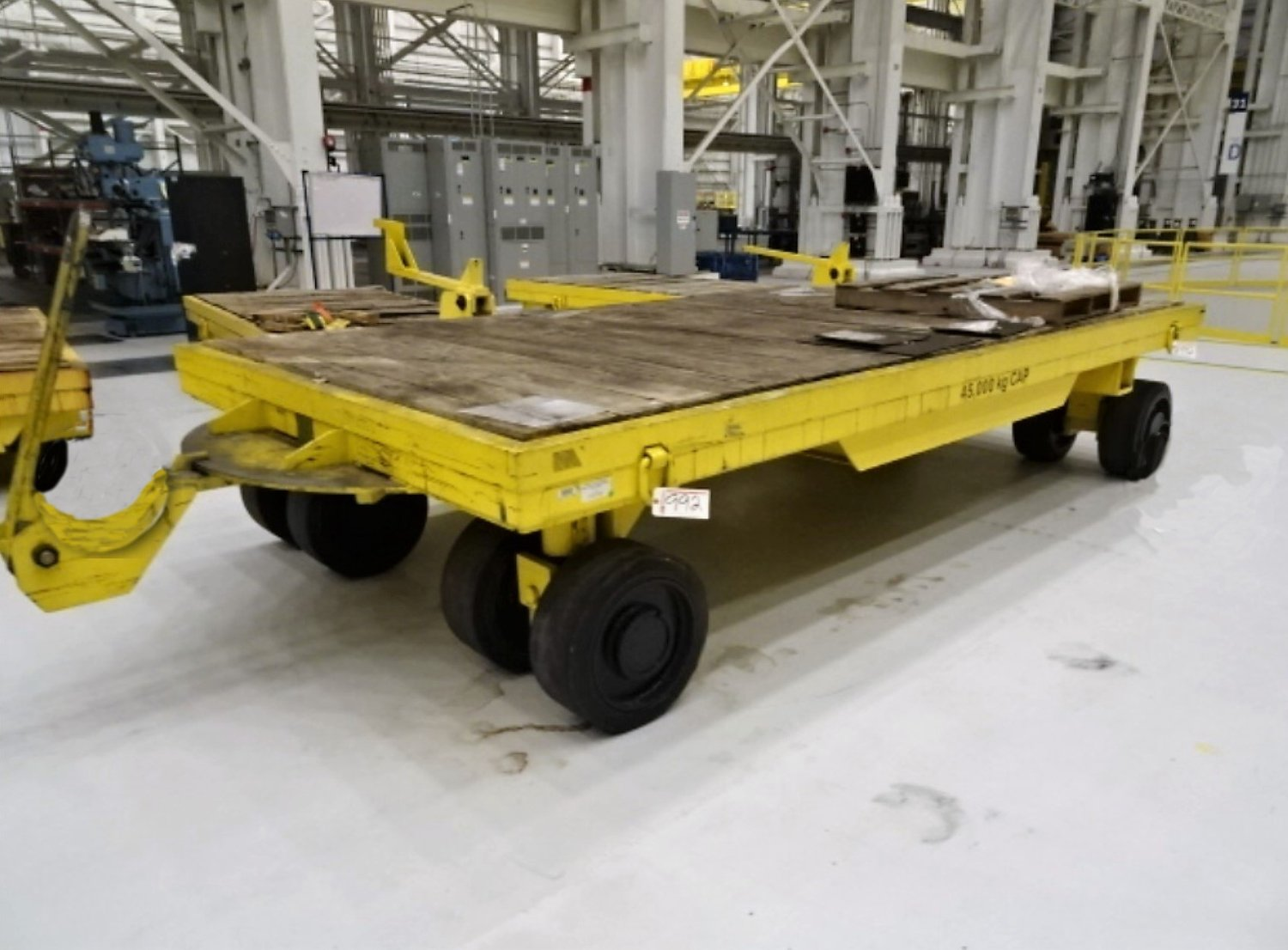 100000lb. Capacity Irwin Die Cart For Sale