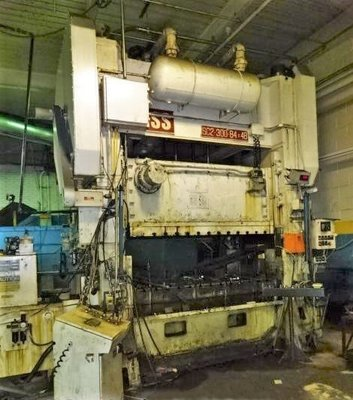 300 Ton Press For Sale Bliss Straight Side Press