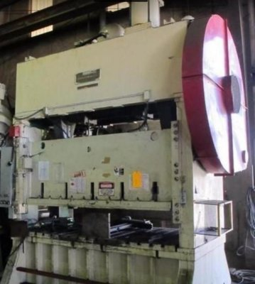 150 Ton Press For Sale Johnson Straight Side Press