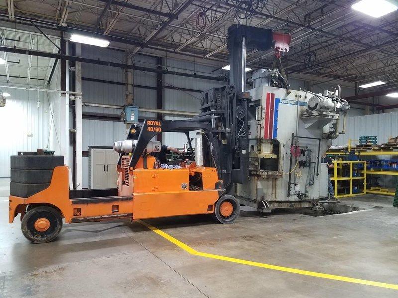 150 Ton Press For Sale Pacific Hydraulic Press