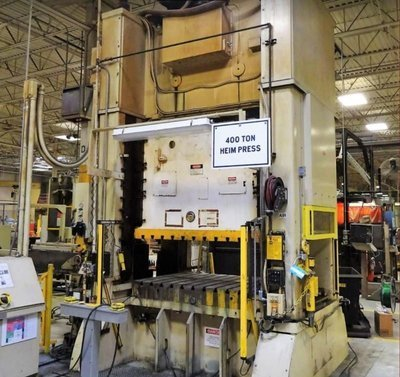 400 Ton Press For Sale Heim Straight Side Press