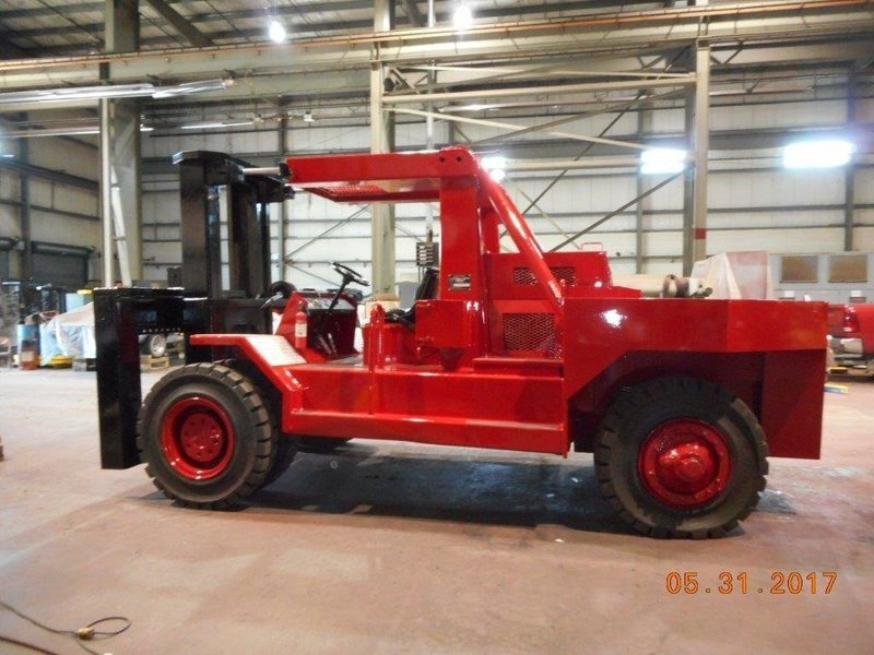 80,000lb Bristol Riggers Special Forklift For Sale 40 Ton