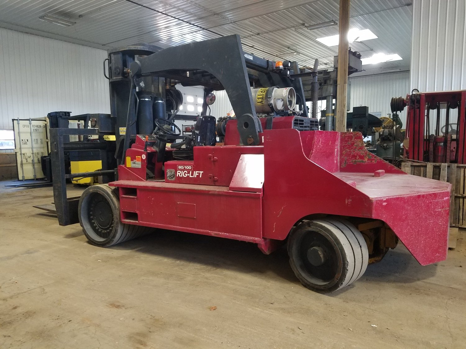 40 Ton 50 Ton Forklift For Sale Royal Rig-N-Lift