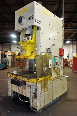 165 Ton Press For Sale Aida Single-Point Gap Frame Press