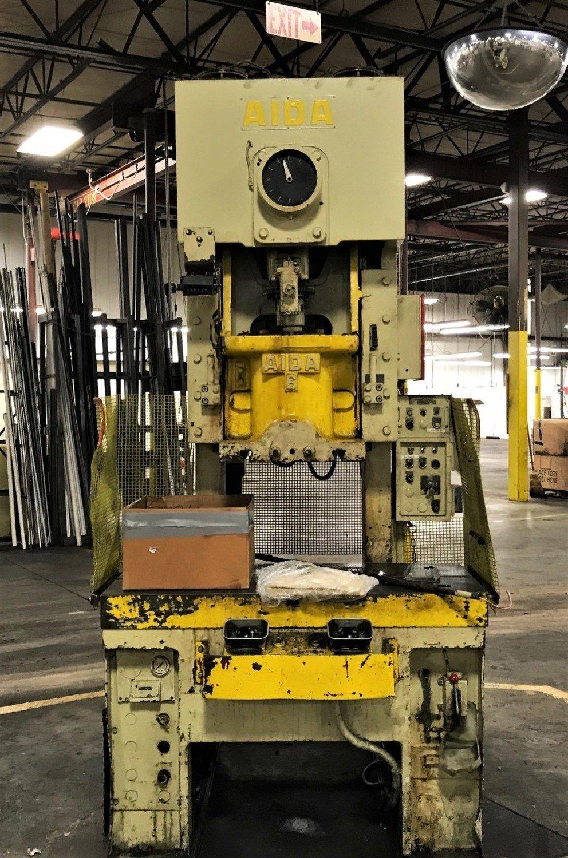 60 Ton Press For Sale Aida Gap Frame Press