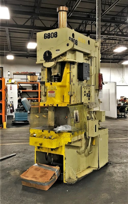 75 Ton Press For Sale Aida Single-Point Gap Frame Press