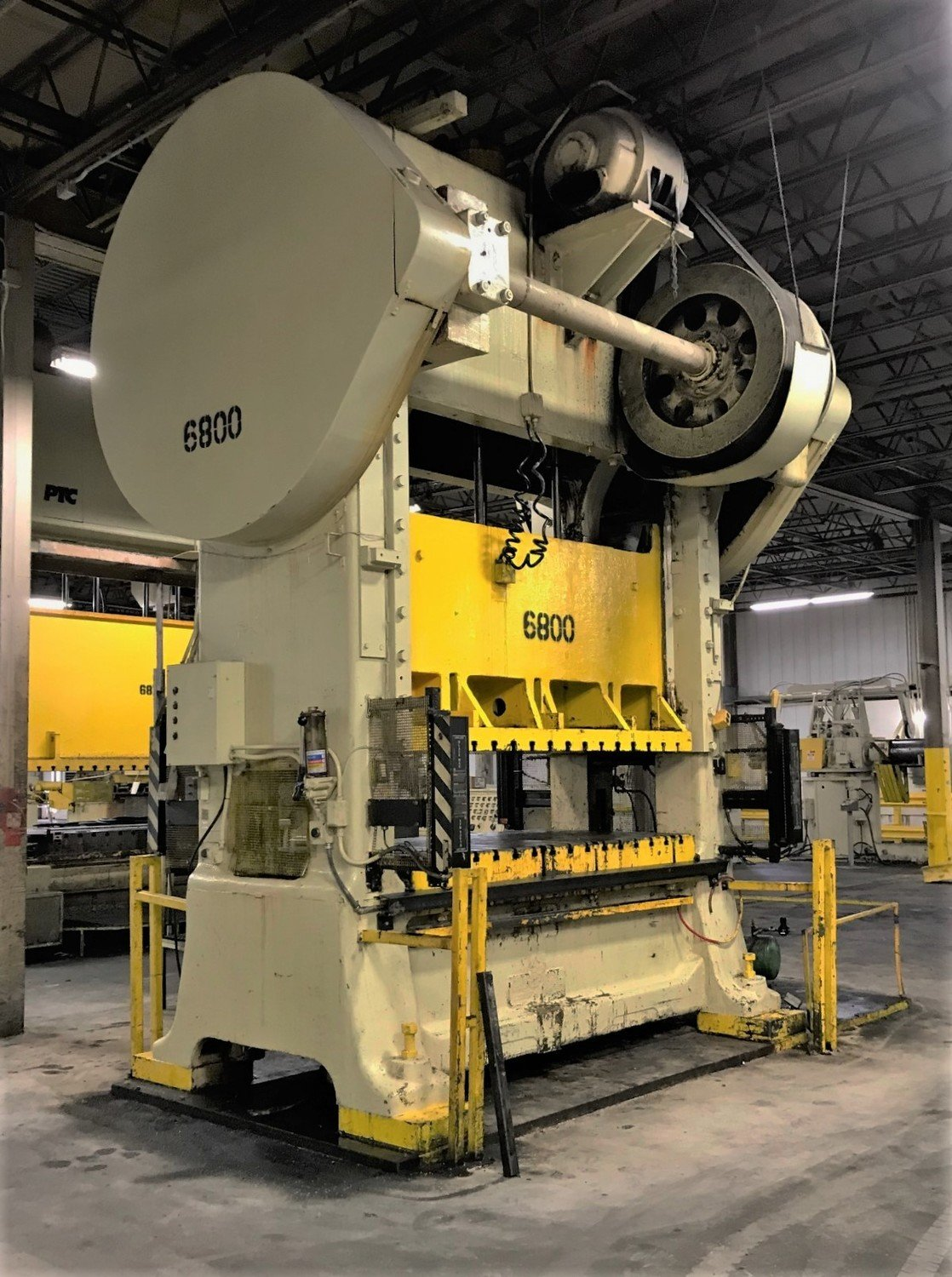​300 Ton Press For Sale Minster Straight Side Press
