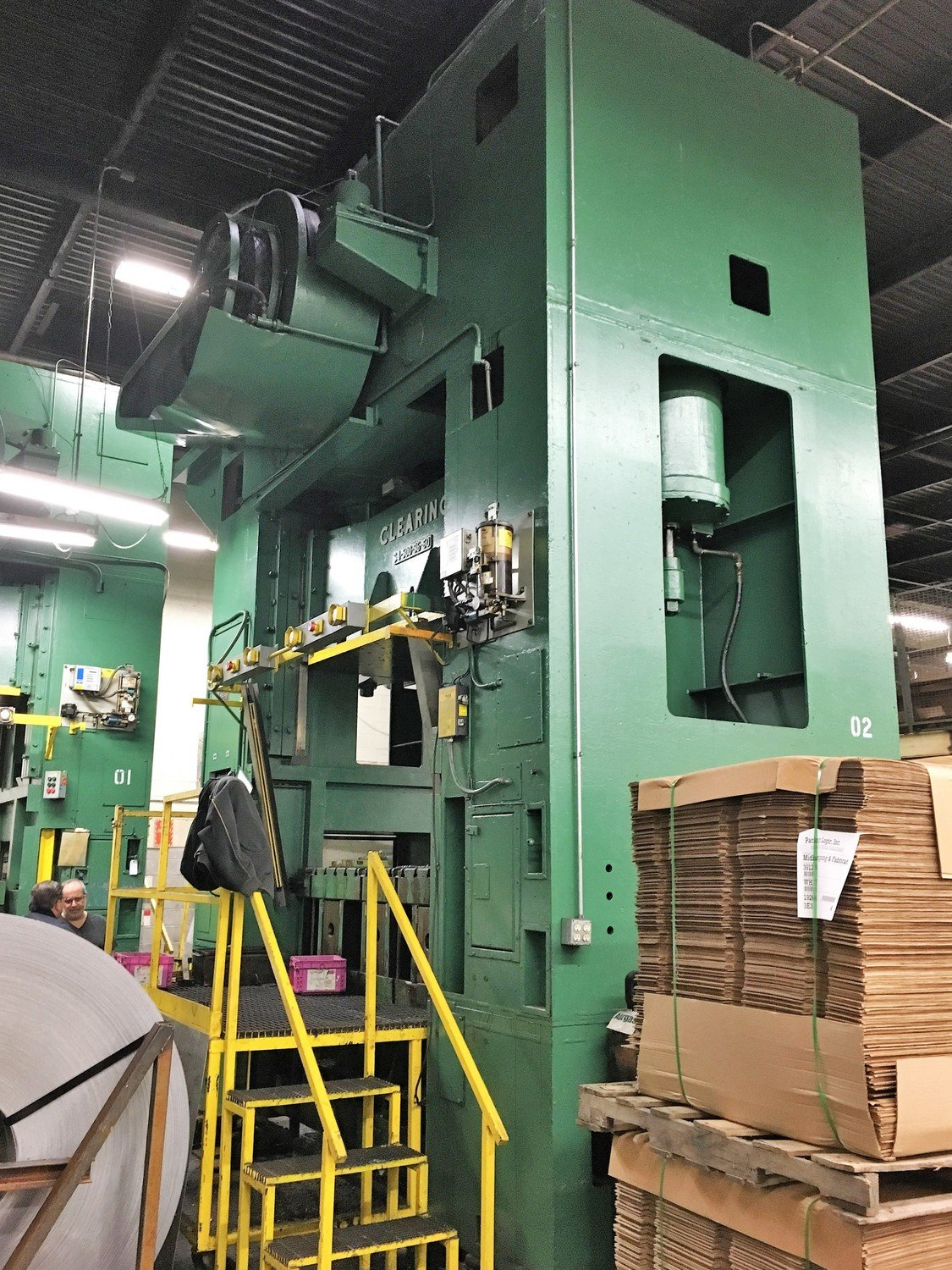 500 Ton Press For Sale USI Clearing Straight Side Press
