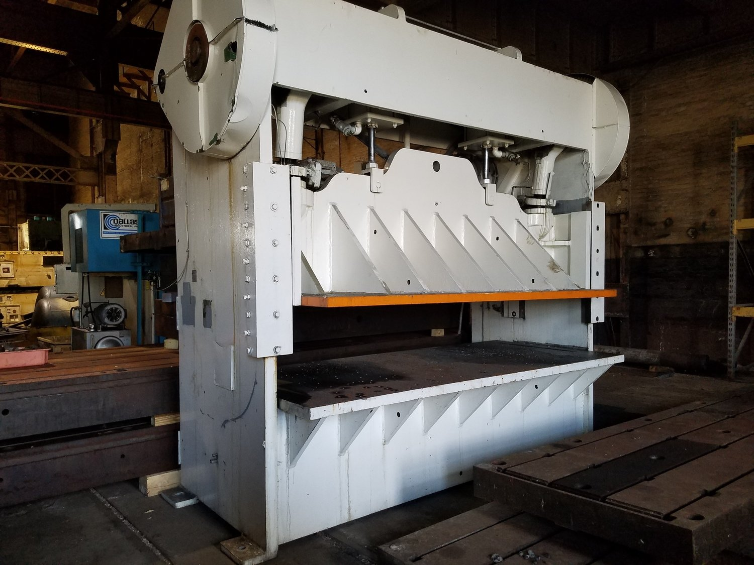 100 Ton Press For Sale D & K Straight Side Press