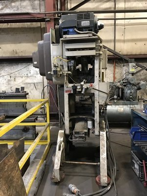 35 Ton Press For Sale Bliss C-35 OBI Press