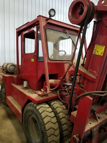 7.5 Ton Forklift For Sale Taylor Air Tire