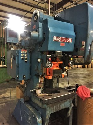 45 Ton Press For Sale Bliss OBI Press