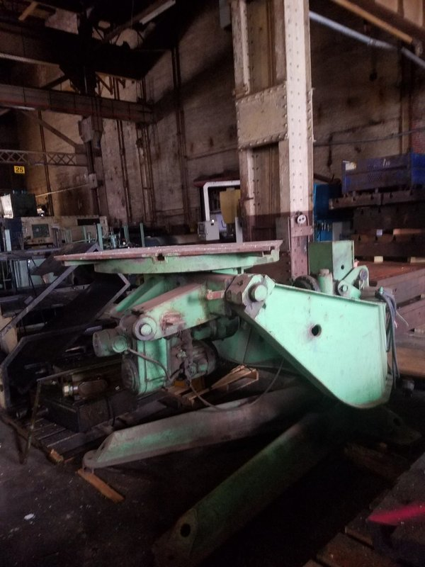 10,000lb. Capacity P & H Welding Positioner For Sale