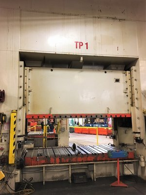 550 Ton Press For Sale Seyi Straight Side Press