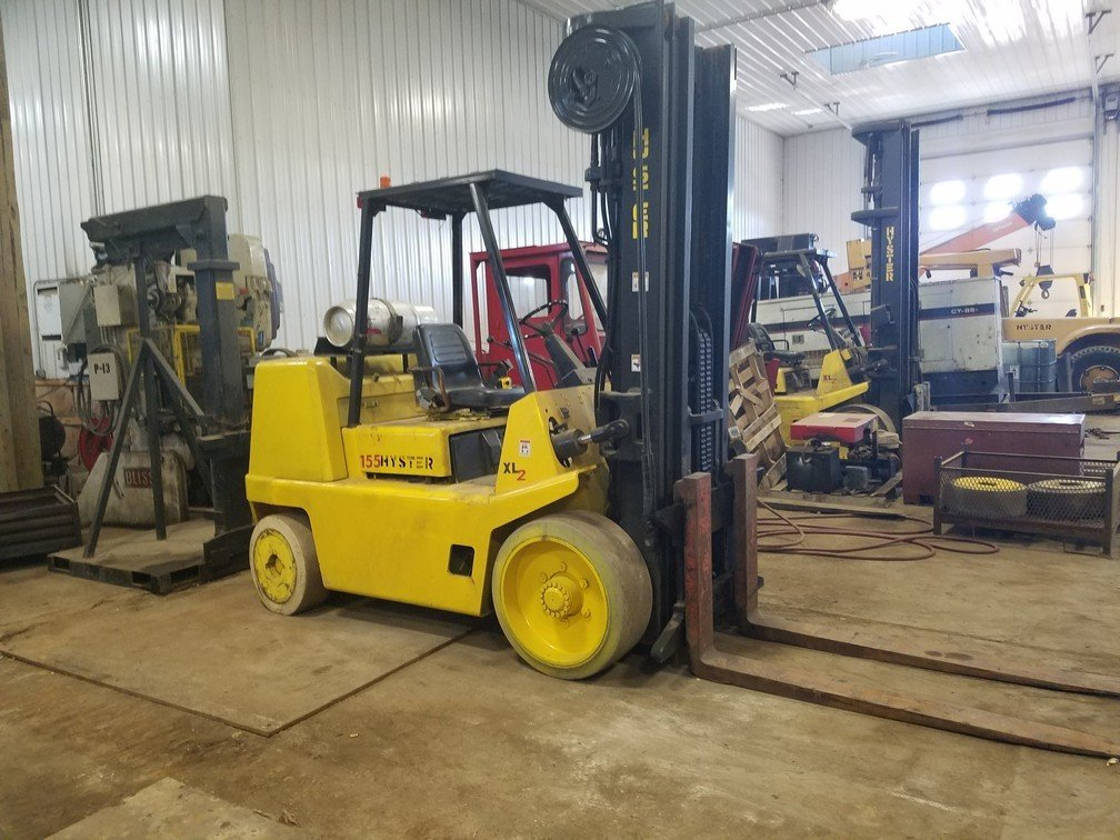 7.75 Ton Forklift For Sale Hyster S155XL2