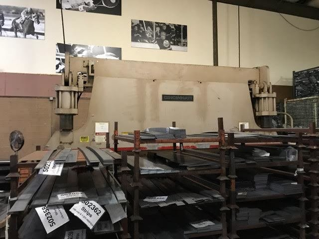350 Ton Capacity Cincinnati Hydraulic Press Brake For Sale