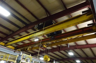 10 Ton Capacity Load Lifter Overhead Bridge Crane For Sale