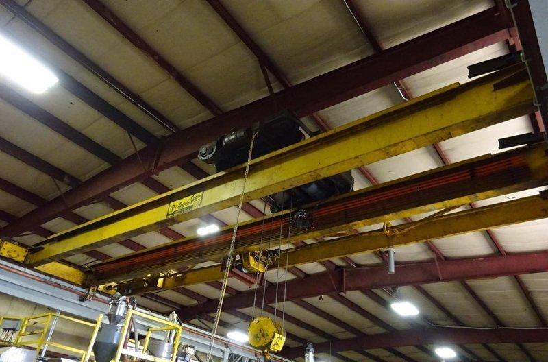 10 Ton Capacity Load Lifter Overhead Bridge Crane For Sale