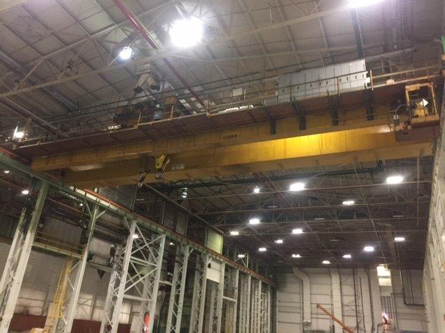 100/35 Ton Capacity Shawbox-Dresser Overhead Bridge Crane For Sale