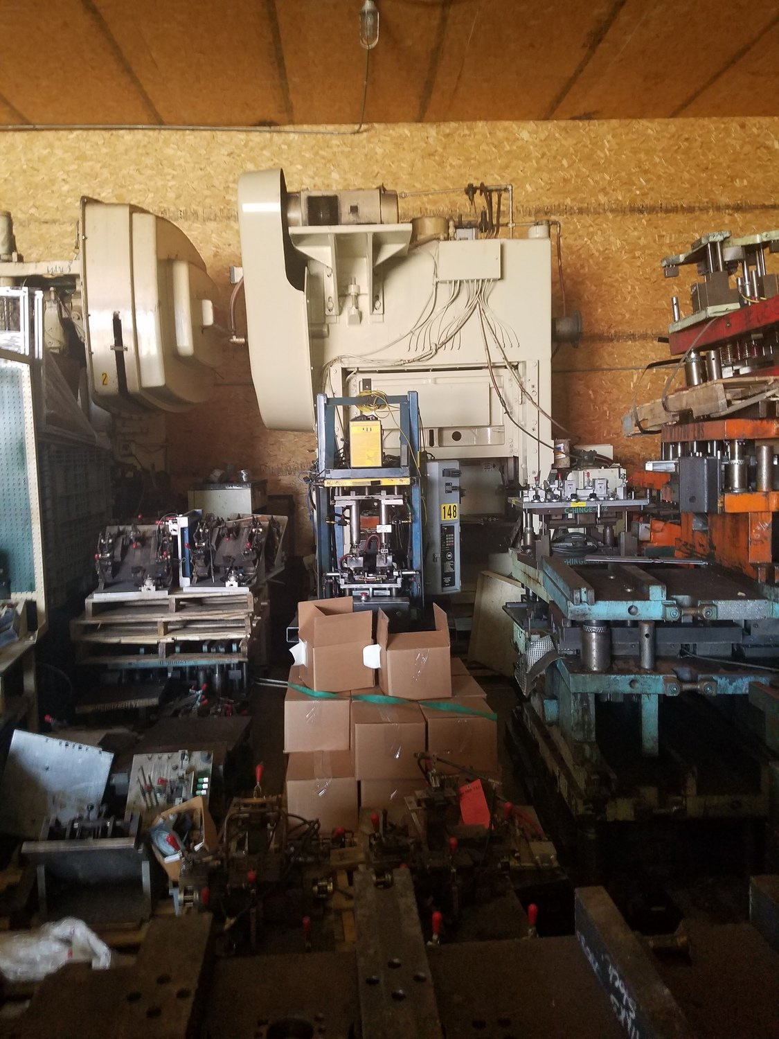 ​100 Ton Press For Sale Minster Press