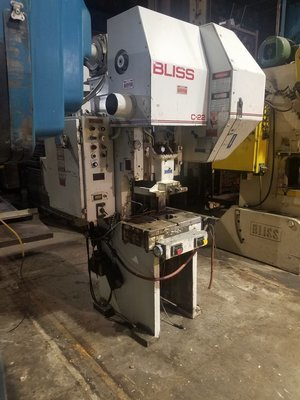 22 Ton Press For Sale Bliss OBI Press