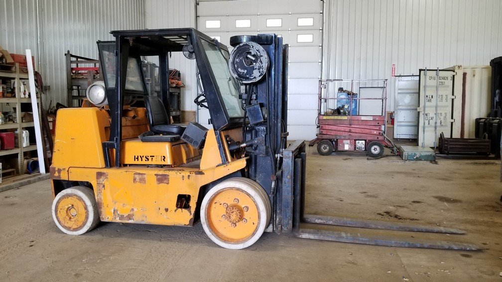 15,500lb Hyster Forklift For Sale 7.75 Ton