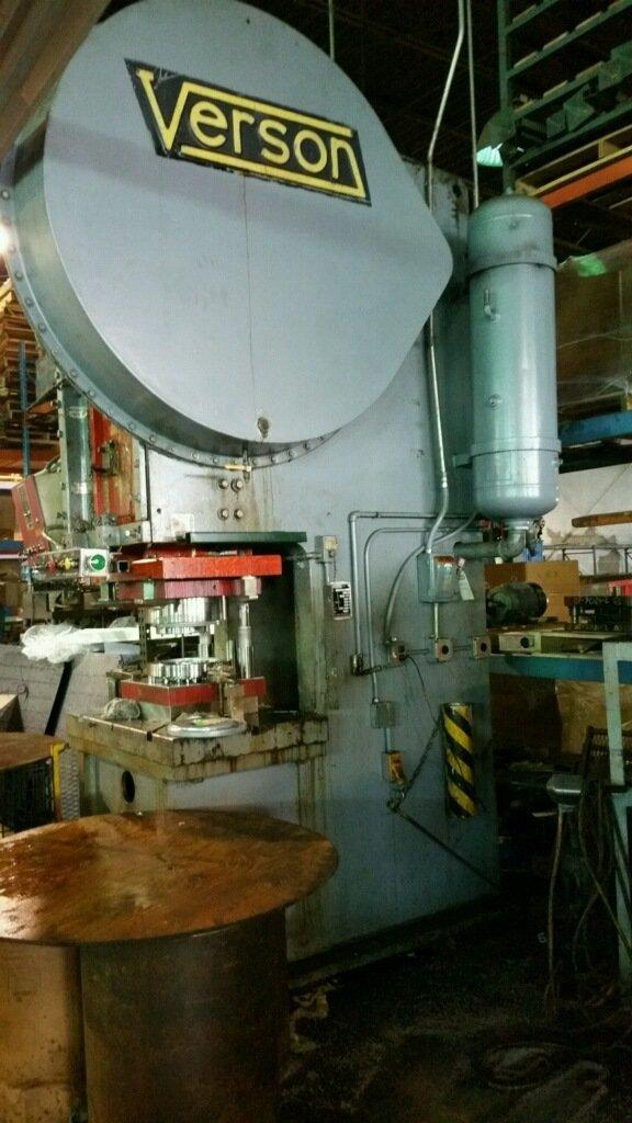 150 Ton Press For Sale Verson OBG Press