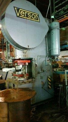 150 Ton Press For Sale Verson OBG Press
