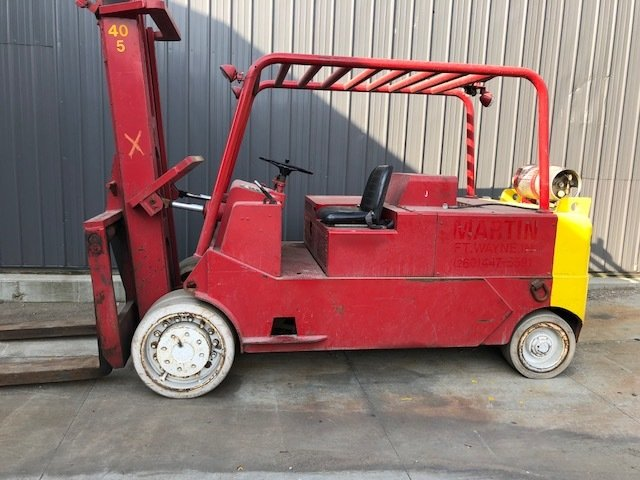 20 Ton Forklift For Sale CAT Solid Tire