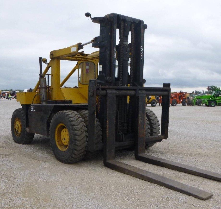 25 Ton+ Forklift For Sale Taylor Big Red