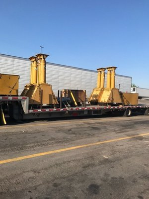 800 Ton Capacity Lift Systems Hydraulic Gantry For Sale
