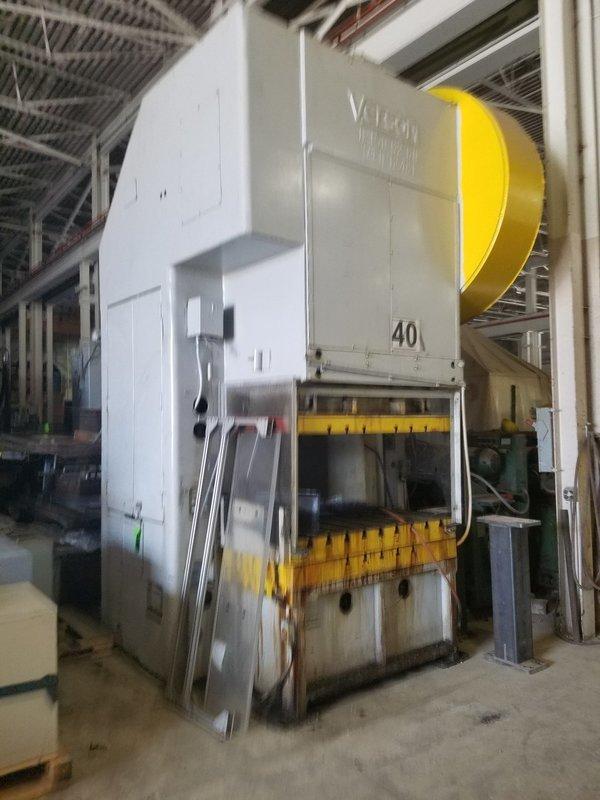 150 Ton Press For Sale Verson Gap-Frame Press