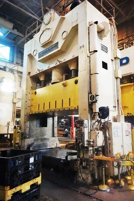 600 Ton Press For Sale USI Clearing Press