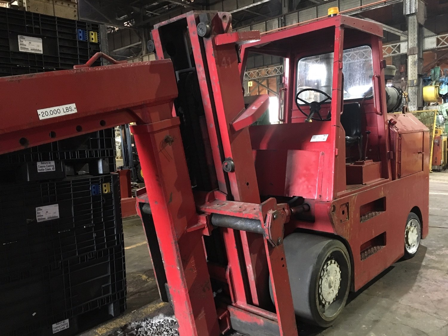 20,000lb Forklift For Sale Taylor Big Red