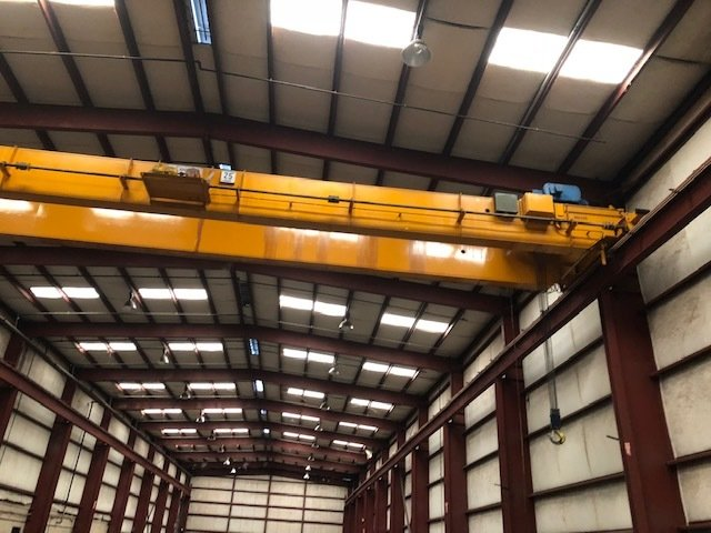 25 Ton Anchor and Hoist Bridge Crane with Shawbox Hoist