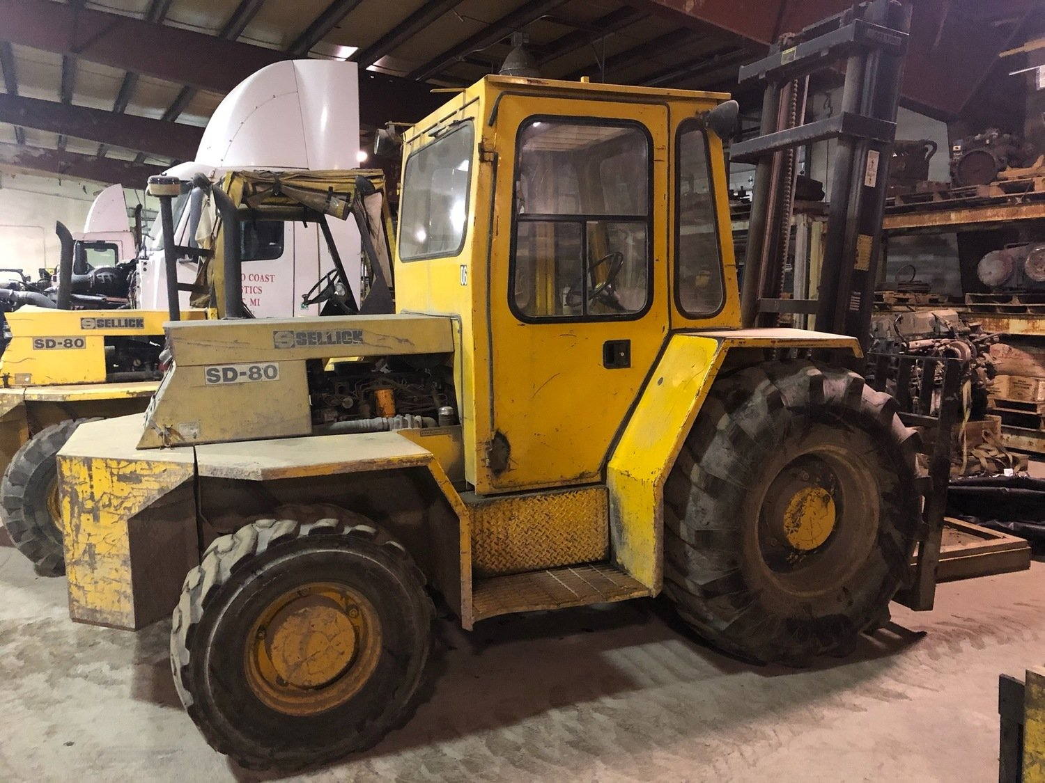 8,000lb Forklift For Sale 4 Ton