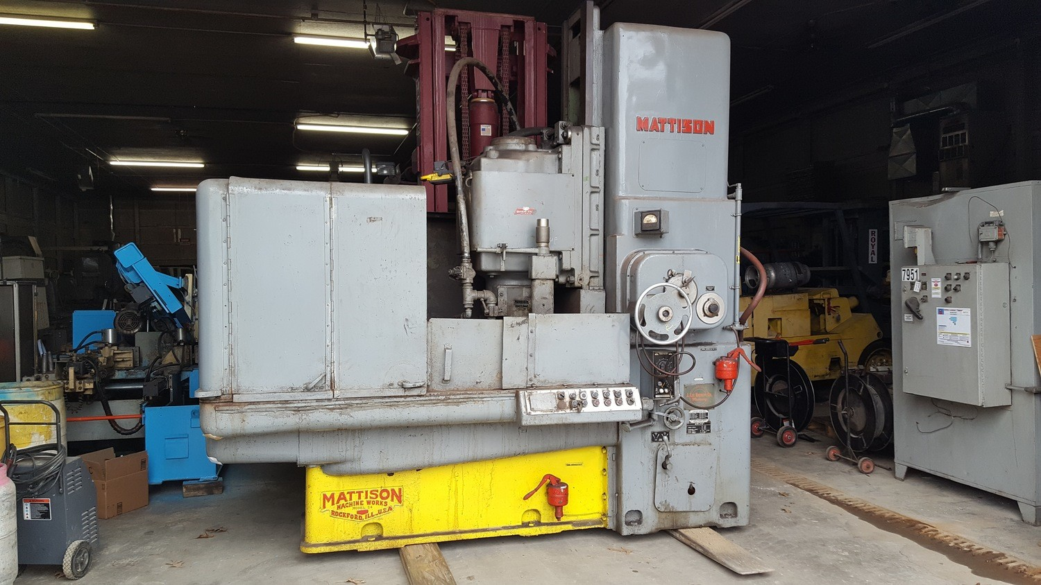 ​Mattison Rotary Surface Grinder For Sale 42""