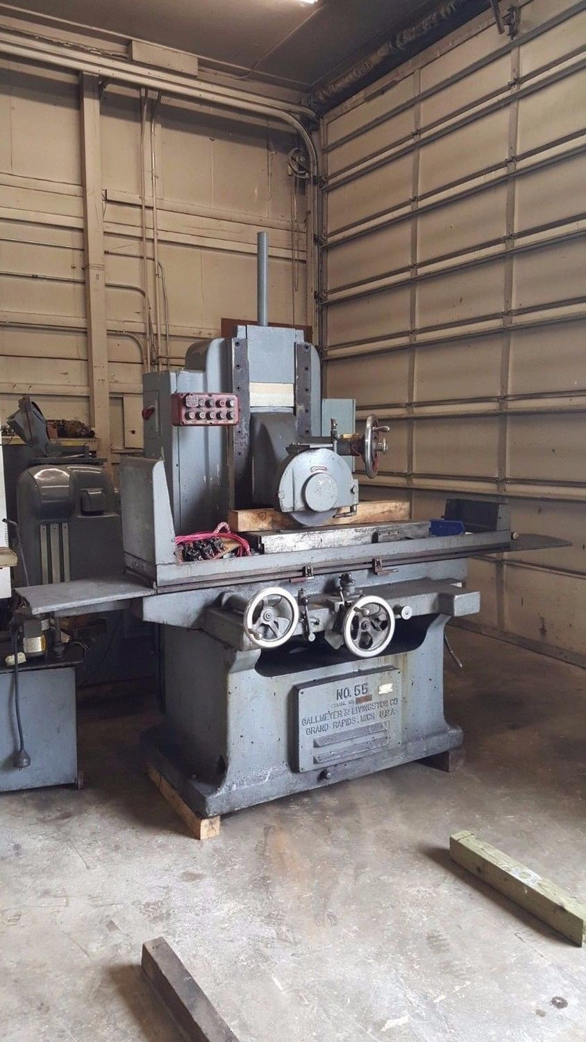 Gallmeyer & Livingston Hydraulic Surface Grinder For Sale