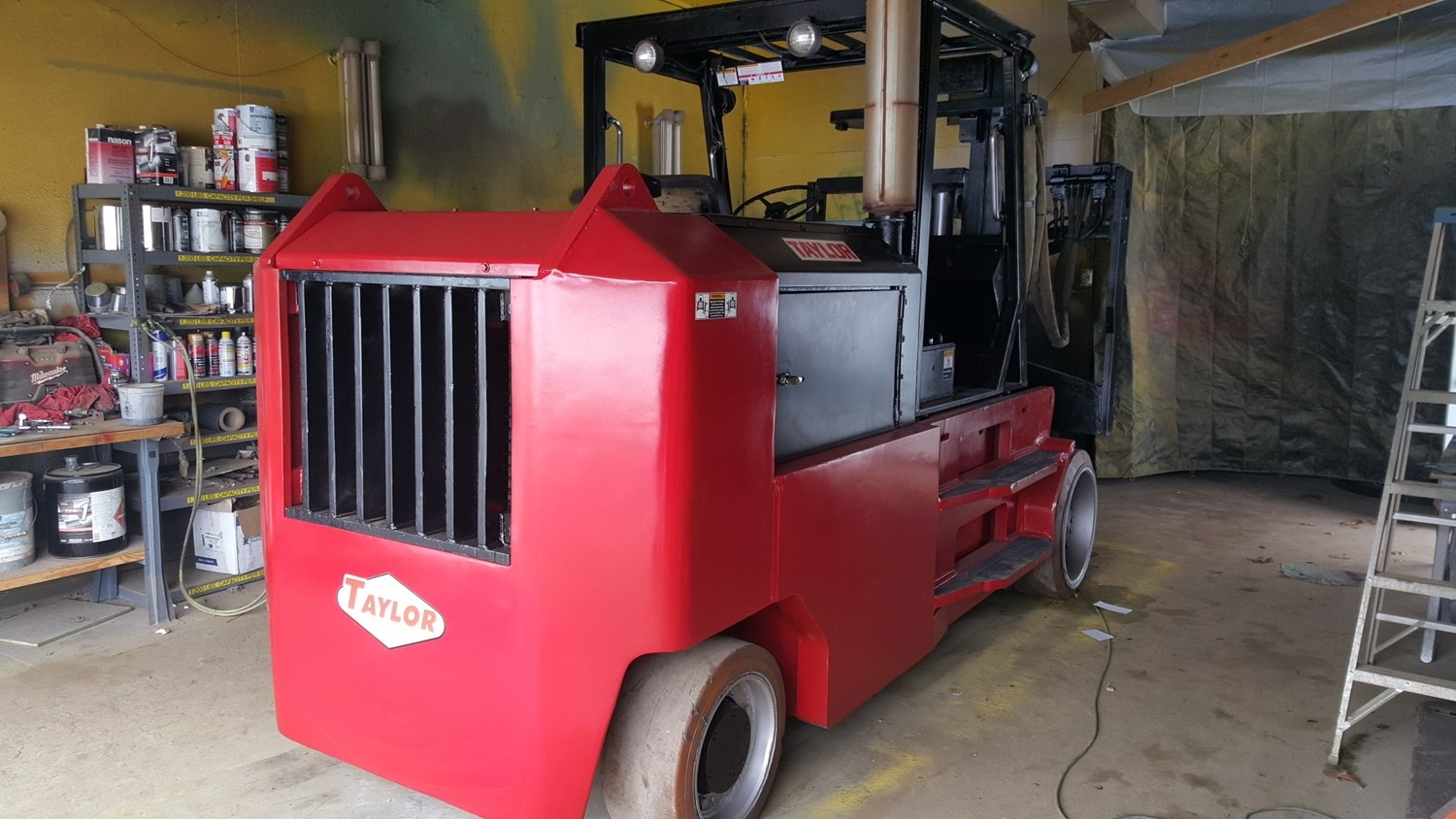 40,000lb Taylor TC-400L Forklift For Sale 20 Ton