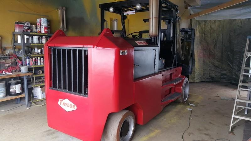 40,000lb Taylor TC-400L Forklift For Sale 20 Ton