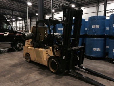 30,000lb Lowry Forklift For Sale 15 Ton