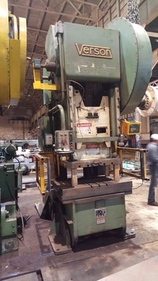 150 Ton Verson O.B.I. Press For Sale