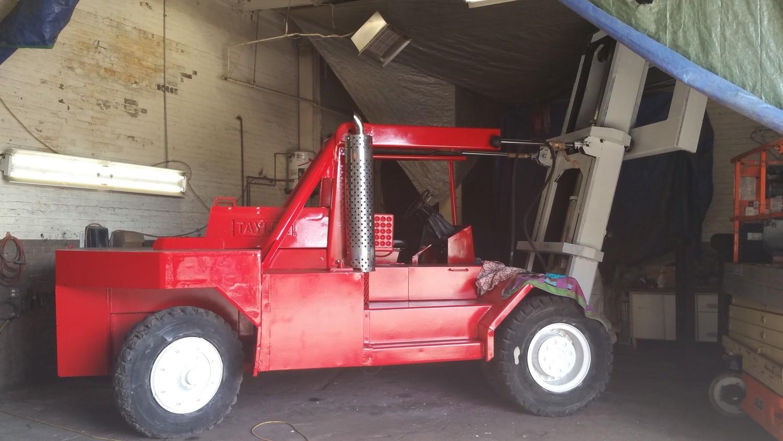 80,000lb Rigger Lift Forklift For Sale 40 Ton