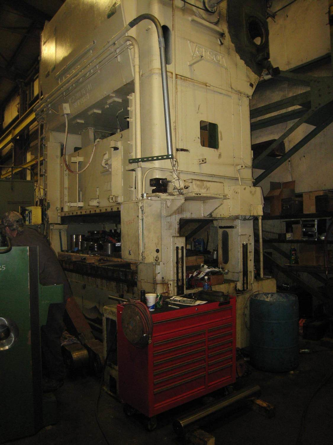 300 Ton Verson Metal Stamping Punch Press For Sale