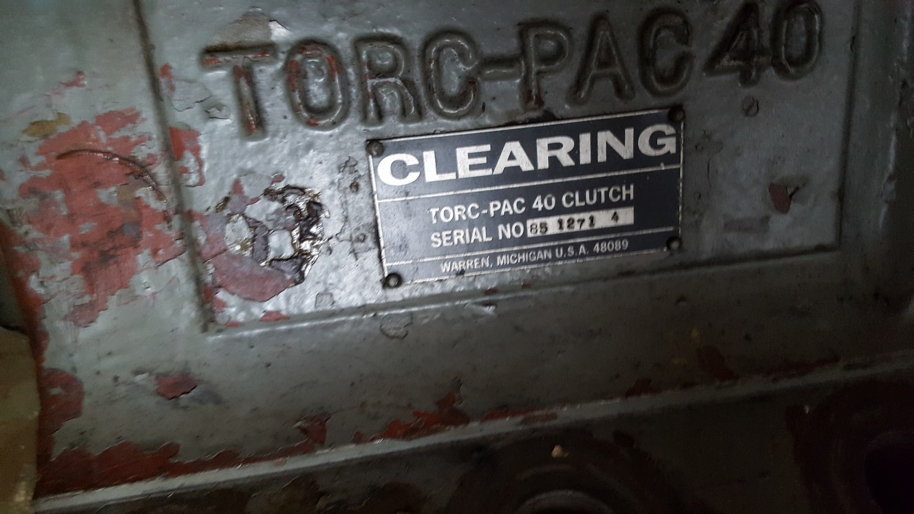 Clearing Torc Pac 40 Wet Clutch Parts For Sale
