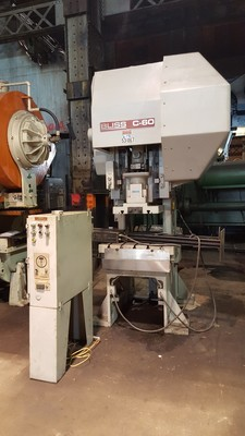60 Ton Press For Sale Bliss C-60 Press