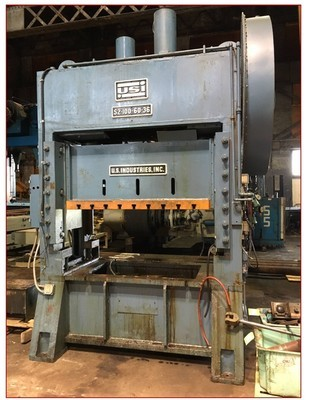 100 Ton Press For Sale USI Clearing Press