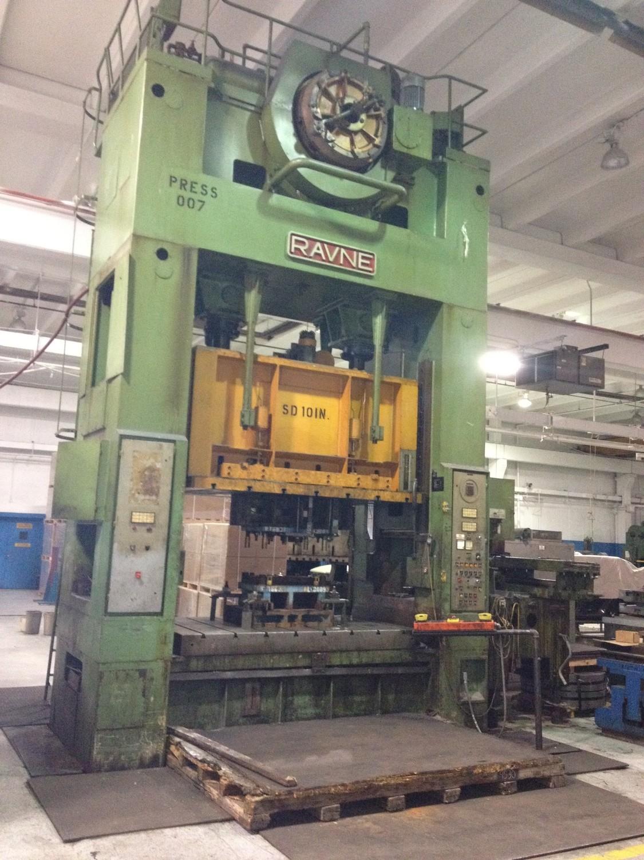 350 Ton Press For Sale Ravne Straight Side Press