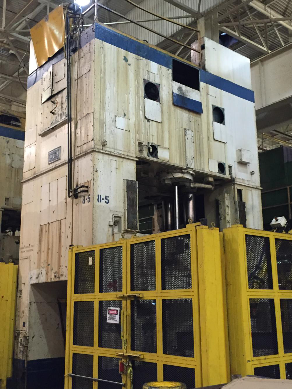 800 Ton Capacity USI/Clearing Press Line For Sale (4 Available)