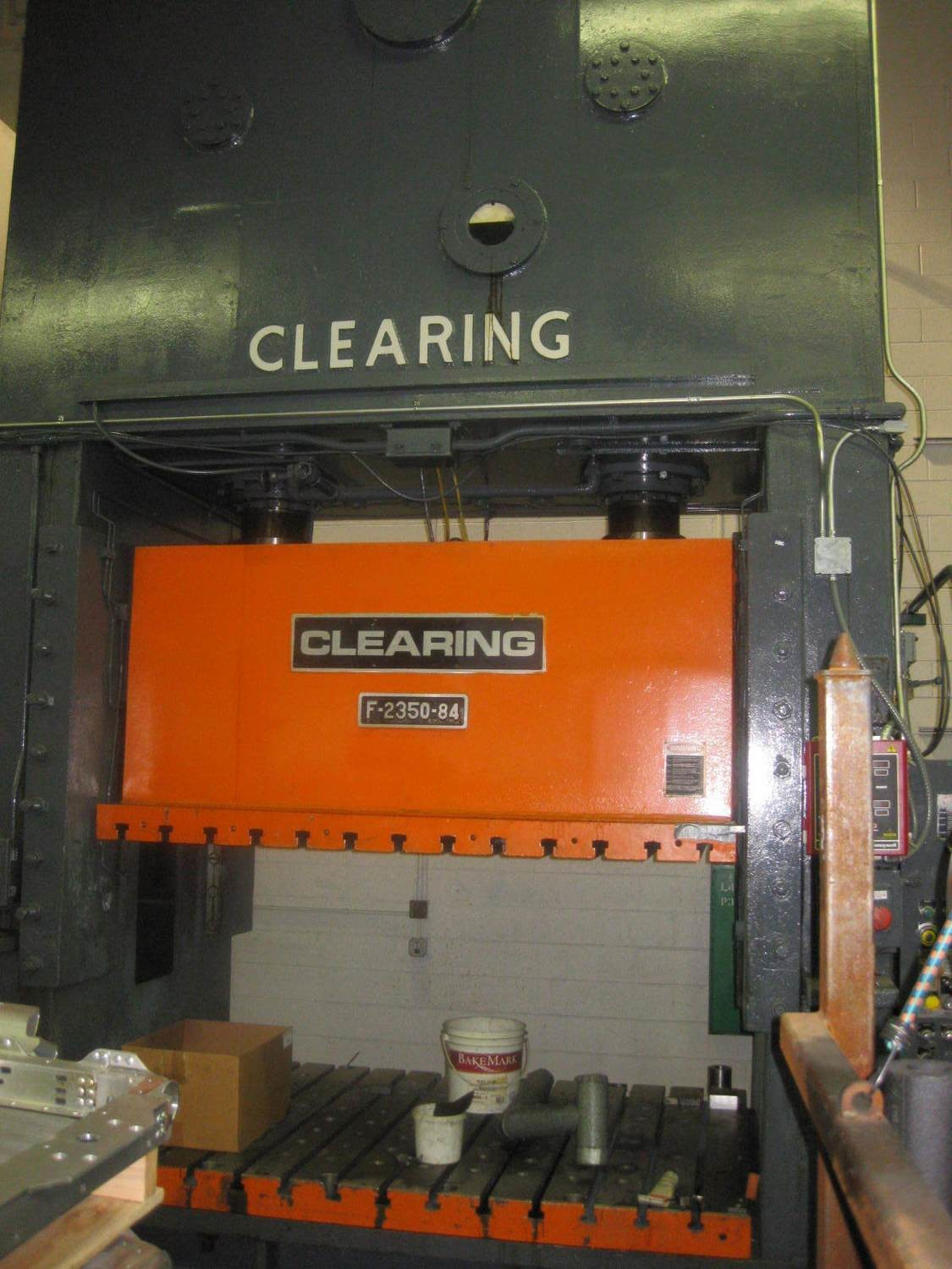 350 Ton Capacity Clearing Straight Side Press For Sale